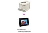 1 x Gratar Electric + iPod Shuffle, 1 x Frizeuza + Rama foto digitala, 1 x Aparat de gatiti cu abur + Radio cu ceas