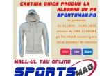 1 x orice produs la alegere de pe www.sportsmag.ro