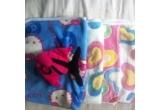 1 x o paturica pufoasa pentru copii