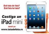 1 x un iPad Mini, 100 x sticla de vin