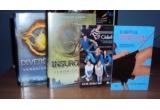 "1 x Seria ""Divergent"" de Veronica Roth, 1 x romanul ""Clubul V"" de Kate Brian, 1 x romanul ""Iubitul Virtual"" de Kate Brian"
