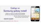 1 x un telefon Samsung Galaxy Note negru