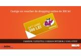 1 x un voucher de shopping online de 300 lei