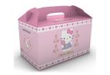 4 x o cutie Hello Kitty + produse de hartie