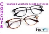 1 x un voucher de 30 $ (pentru o pereche de ochelari Designer Glasses) + transport gratuit, 5 x un voucher de 30 $ (pentru categoria Designer Glasses)