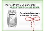 un pandantiv Guess Triple Chains Silver<br type=&quot;_moz&quot; />