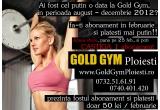 5 x abonament la Gold Gym Ploiesti