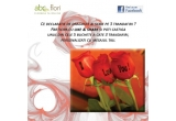 5 x buchet cu 3 trandafiri personalizati cu mesajul tau