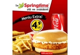 128 x 2 meniuri Extra intr-un restaurant Springtime