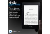 1 x un Kindle Paperwhite sau echivalentul acestuia intr-un bon cadou valabil pe Amazon