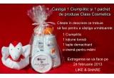 1 x un ciumpilitic + un pachet de produse Class Cosmetics