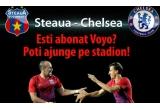 5 x bilet duble la meciul Steaua-Chelsea