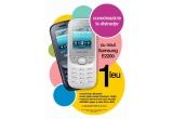 1 x un telefon mobil SAMSUNG S3550
