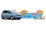 1 x masina Skoda Octavia, 61 x Jucarie Fisher Price, 61 x Geanta cu produse Nestlé, 1 x masina Opel Meriva