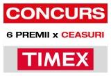 6 x premiu constand in ceasuri TIMEX