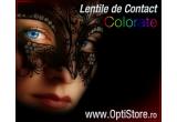1 x pereche de lentile de contact colorat oferite de catre Optistore.ro