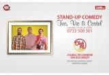 1 x o invitatie dubla la un show de stand-up comedy in Club 99
