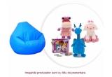 5 x pachet de produse Doctorita Plusica + un fotoliu puf pentru copilul tau