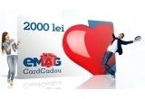 8 x card cadou eMAG in valoare de 2.000 lei