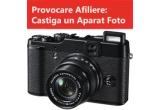 1 x aparat foto digital Fujifilm FinePix X10, 12MP, Black 20, 1 x aparat foto digital Fujifilm FinePix S4000, 14MP, Black, 1 x Card Cadou eMAG in valoare de 300 de lei.