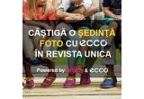 1 x sedinta foto in numarul de iunie al revistei Unica + o pereche trendy de pantofi ECCO