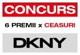 "6 x ceas de dama ""DKNY(DONNA KARAN NEW YORK)"