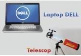 1 x laptop Dell XPS 15Z + telescop StarScope, 1 x telescop StarScope, 1 x set de carti