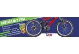 3 x biciclete DHS, 10 x abonamente la Revista Garfield pentru o perioada de 6 luni, 30 x voucher de cumparaturi pe site-ul www.mediadocs.ro de 25 ron