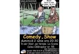 1 x invitatie dubla la Comedy.Show de pe terasa La Scena