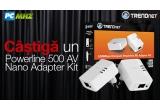 1 x kit TRENDnet Powerline 500AV Nano