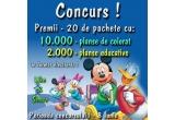 20 x pachet pentru copii in format electronic cu 10.000 de planse de colorat si 2.000 de planse educative
