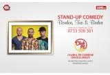1 x invitatie dubla la un show de stand-up comedy in Club 99