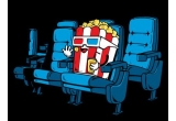 1 x 4 bilete la un film la alegere + floricele sau racoritoare