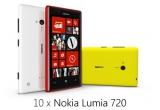 10 x telefon mobil Nokia Lumia 720
