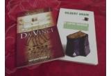 """1 x """"Conspiratia Da Vinci"""" (de Marc Sinclair) si """"O carte inchisa"""" (de Gilbert Adair), 1 x """"Relatii exuale"""" (de Michael Birbaek) si """"Camasa in carouri si alte 10 intamplari din Bucuresti"""" (de Doina Rusti), 1 x """"Tehnici de a vinde"""" (Dale Carnegie) si """"Arta vanzarii"""" (Zig Ziglar)"""