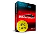 1 x licenta Bitdefender 2013 Internet Security