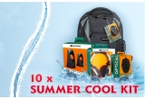 10 x summer cool kit