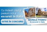 9 x curs de perfectionare in domeniul pasiunii alese, 3 x excursie in Florenta/ Venetia/ Milano