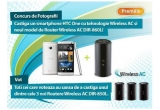 3 x router wireless AC DIR-860L, 1 x smartphone HTC One + router wireless AC DIR-860L