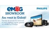 1 x televizor LED Philips 117 cm Full HD 46PFL3807H/12, 1 x sistem de andocare Philips Fidelio Primo pentru iPhone/iPod DS9/10, 1 x Sistem Home cinema 3D cu Blu-ray Philips HTB3560/12
