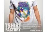 2 x tricou personalizate, 1 x tricou de la Tshirt Factory