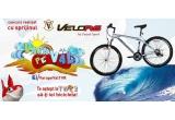 1 x bicicleta Velors oferita de Carpat Sport