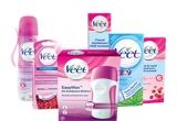 10 x Veet Kit de vara (Veet Easy Wax + rezerva + 2 x Veet Benzi de ceara rece Suprem'Essence + Veet Crema depilatoare + Veet Crema depilatoare pentru piele sensibila + Veet Benzi de ceara rece pentru fata)
