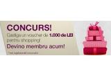 1 x voucher Homeycomb.ro de 1000 lei valabil in magazinul online