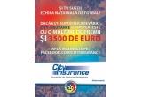 1 x 3.500 de euro, 1 x tricouri ale Nationalei/ mingi/ sepci la fiecare 9 ore