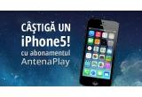 1 x iPhone 5 + voucher pentru 6 luni cu acces gratuit in platforma video AntenaPlay + cartela Orange