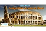 2 x 2 bilete dus-intors la Roma cu plecare din Timisoara