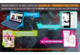 1 x laptop Packard Bell, 1 x tableta Serioux, 18 x set cosmetice Bioderma, 18 x abonament la revista Avantaje