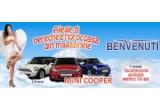 3 x masina Mini Cooper, 7 x incaltaminte gratuita pentru 10 ani in valoare de 2.000 lei anual, 10 x incaltaminte gratuita in valoare de 3.000 lei, 80 x premiu constand in produse Benvenuti in valoare de 200 lei
