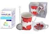10 x premiu constand o cutie de Osteozone + set de vesela pentru ceai